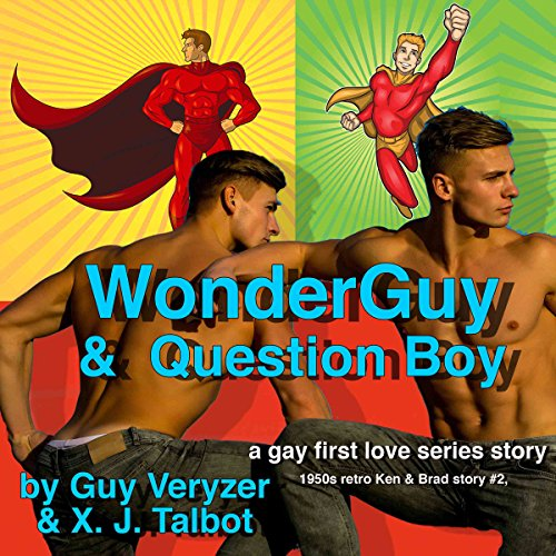 WonderGuy & QuestionBoy audiobook cover art