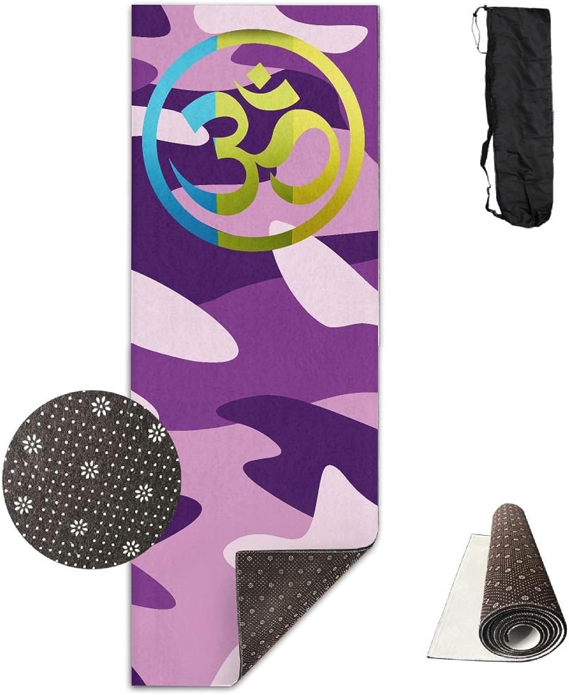 OM YOGA Yoga Mat Towel For Bikram Hot Yoga Yoga And Pilates Paddle Board Yoga Sports Exercise Fitness Towel