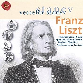 Liszt: Réminescenses de Norma & Other Piano Works