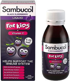 Sambucol Black Elderberry para Niños | Vitamina C | Complemento alimentario