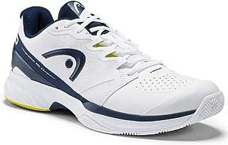 Head Men's Sprint Pro 2.5 Clay Tennis Shoe, White/Dark Blue, 42.5 EU
