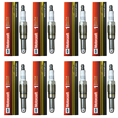 AD Auto Parts New Motorcraft (SP515) Spark Plug, (Pack of 8)