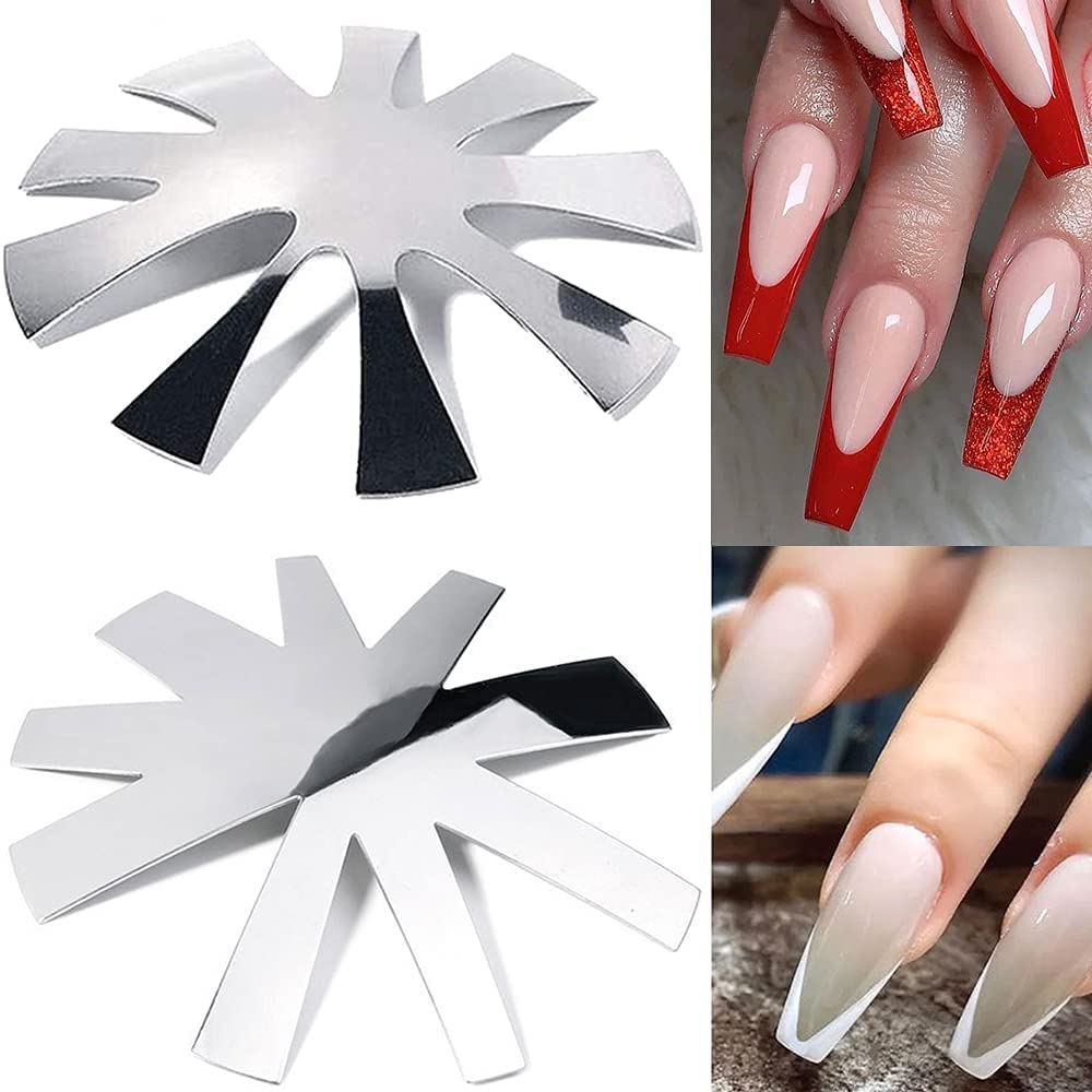 French Nail Cutter Tool Kit Gifts Manicure Shape N Trimmer Edge V