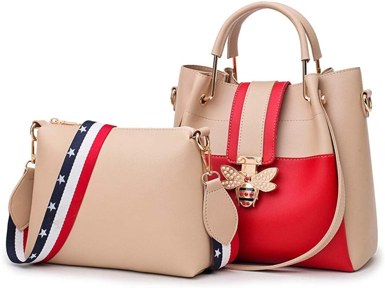 ZLULU Damen-Schultertaschen Damenhandtaschen Diagonale, Mehrteilige Mehrteilige Mehrteilige Handtasche Mit Einer Schulter B07L2KKQ7G  Moderne und stilvolle Mode 79c6a4