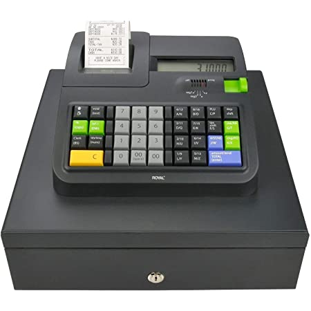 26 Items Casio PCR-T2500 4.5-Inch Bluetooth Cash Register with ...