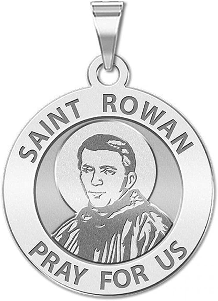 PicturesOnGold.com Saint Rowan Religious Medal Ranking TOP14 So Excellent Available - in