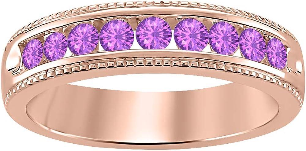Gold Diamonds Jewellery 1.10Ctw Round Rose 14k Gemstone High quality Same day shipping Cut Go