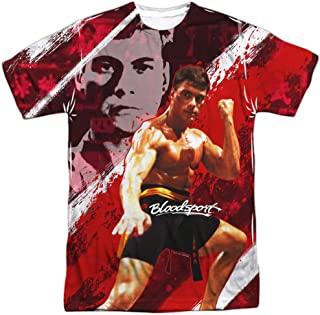 Bloodsport Action Sports Film Van Damme Image Adult Front Print T-Shirt