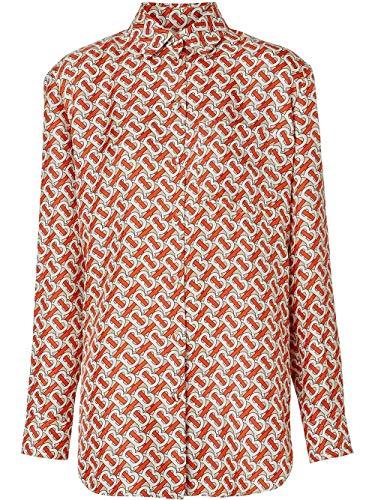 BURBERRY Luxury Fashion Damen 8016683 Rot Seide Hemd | Herbst Winter 19