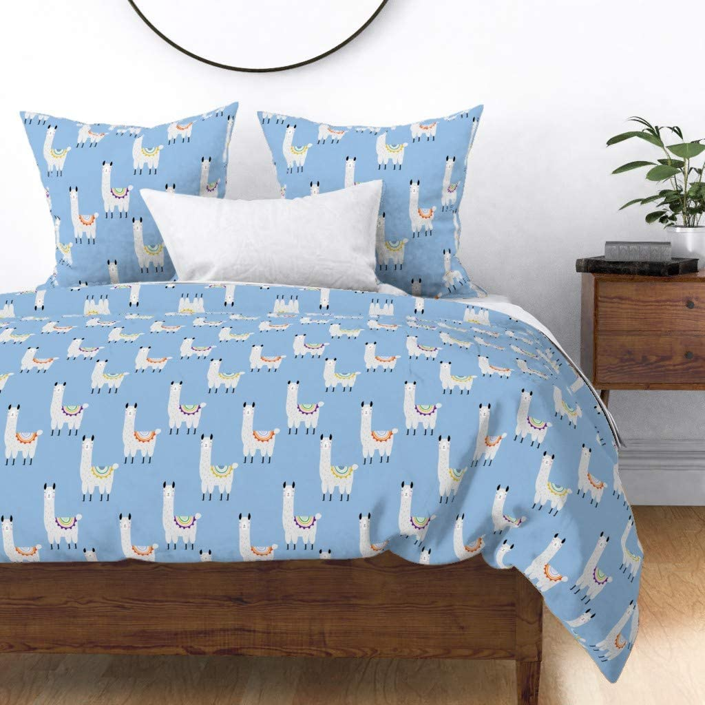 Roostery Duvet Cover Max 45% OFF Kids Nursery Llama Mexico Alpaca Baby Cute Lowest price challenge