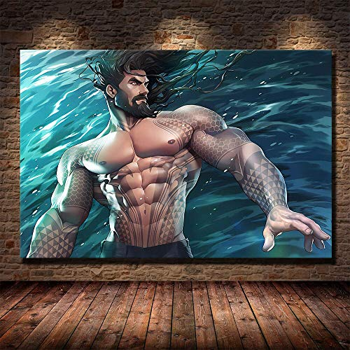 fancjj jigsaw puzzle 1000 piece-Hero movie poster Large Educational Intellectual Paintings Puzzle Game Toys Gift for Home Wall Decoration50x75cm(20x30inch)