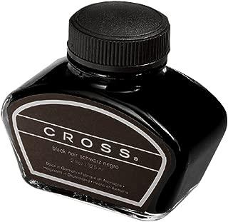 Cross Fountain Pen Bottled Ink, Black Single 2oz Bottle, (8905S)