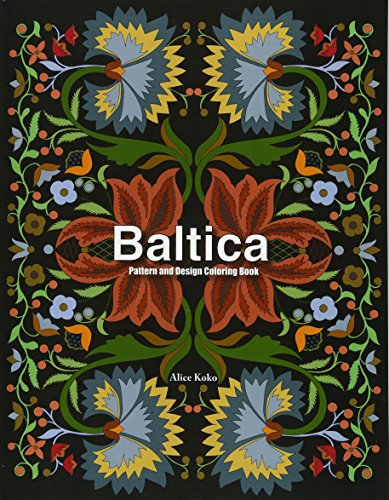 Buy Baltica IV: Pattern and Design Coloring Book (Folk Art) (Volume 4)
