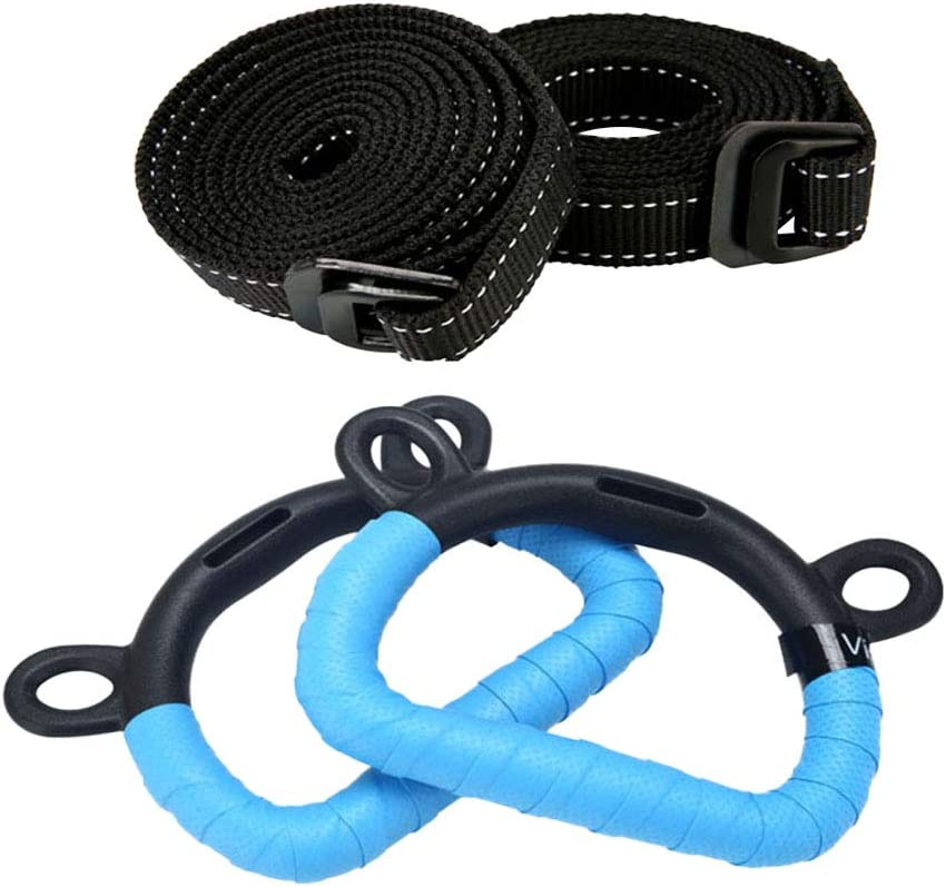 Abaodam 2Pcs Plastic Children Gymnastic Large discharge sale Ring Kids up Max 74% OFF Pull- Fitne