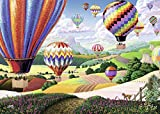 Ravensburger Brilliant Balloons Large Format 500 Piece Jigsaw Puzzle for Adults – Every Piece is Unique, Softclick Technology Means Pieces Fit Together Perfectly