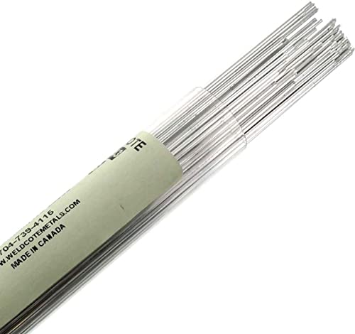 Weldcote Metals Weldcote Aluminum 4043 3/32 X 36 Tig Welding Rod 1 Lb