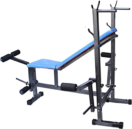 GoFiTPrO Steel Gold Multipurpose 8 in 1 Bench (Multicolour)