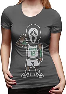 Women's Short-Sleeved T-Shirt Scary Terry Rozier Classic Cool Creation Deep Heather