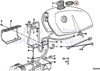 BMW Genuine Motorcycle Fuel Tank Gasket R80G/S R80ST R65 R80 R80RT R100R R100R Mystik R100/7T R100/T R100CS R100RS R100RT R100S R60/7 R75/7 R80 R80RT R100RS R100RT R65 R65LS R100GS R100GS