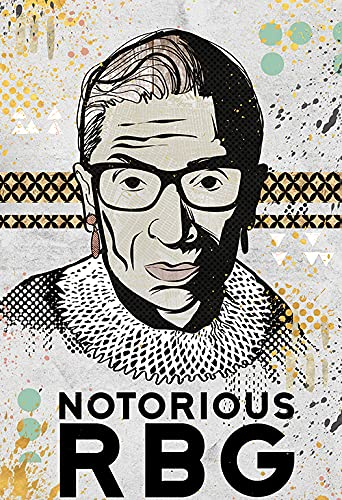 Notorious Omaha Mall RBG Poster Ruth Bader Print o Ginsburg Edition Limited Spring new work one after another