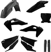 Acerbis Full Plastic Kit BLACK 17-18 HUSQVARNA TE300HQ
