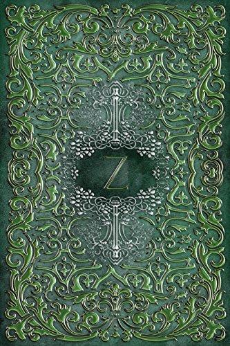 Monogram Z Blank Book: Notebook Journal Diary Art Sketch (Rustic Three 150 Blank, Band 26)