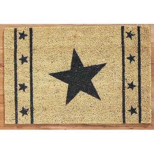 Kokos deurmat ster natuur deurmat vloermat tapijt