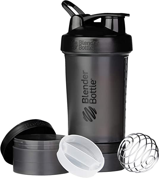 ProStak System With 22 Ounce Bottle And Twist N Lock Storage Black