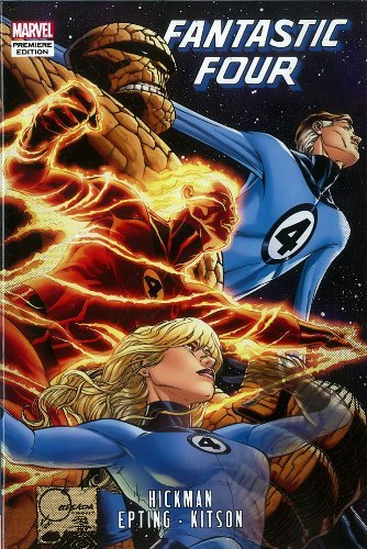 Fantastic Four by Jonathan Hickman: Vol. 5 (Fantastic Four (Marvel Hardcover)) by Jonathan Hickman (25-Jul-2012) Hardcover