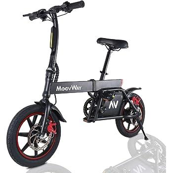 Windgoo Bicicleta Eléctrica Plegables, 350W Motor Bicicleta Plegable 25 km/h y 25 km, Bici Electricas Adulto con Ruedas de 14