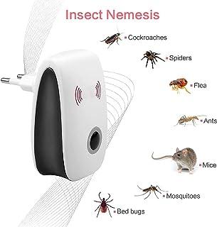 أفضل رفض إلكتروني طارد البعوض القاتل بالموجات فوق الصوتية مكافحة البعوض الحشرات طارد الفئران الصراصير الفئران الآفات