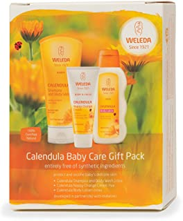 Weleda Calendula Baby Care Gift Pack 3 Pieces, 3 Count