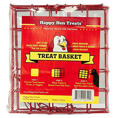 Happy Hen Treats Panier carré à friandises