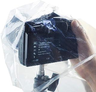 Escudo JJC cubierta de la lluvia para cámaras DSLR con lente primera y cámaras sin espejo con lente de hasta 11 (28 cm) de largo y 7 (17 cm) de ancho