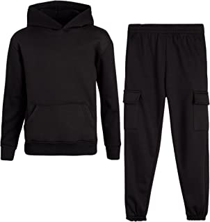 Boys' Jogger Set - 2 Piece Hoodie and Joggers Kids...