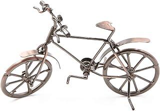 Dawa - Figura Decorativa de Metal para Bicicleta, diseño Vintage con Texto en inglés Crafts Ironwork Bike, decoración para el hogar