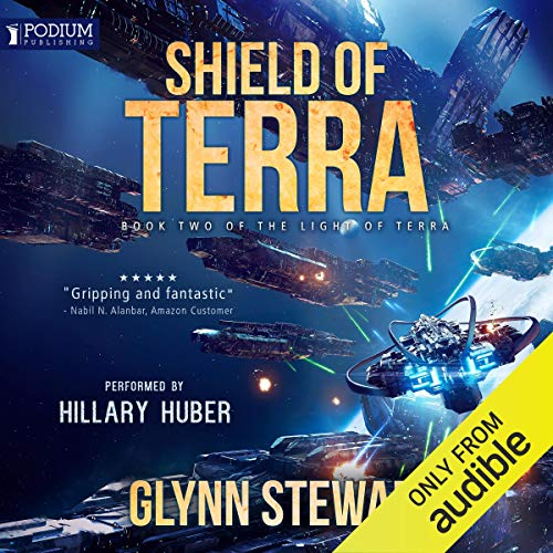 Shield of Terra audiobook cover art