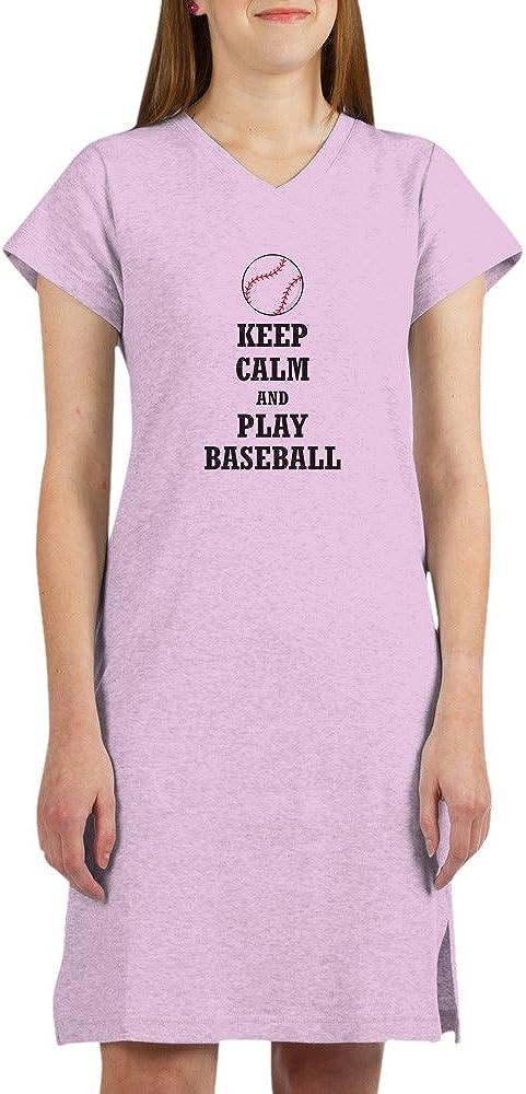 CafePress Keep Dedication Washington Mall Calm and Play Baseball Nightshirt