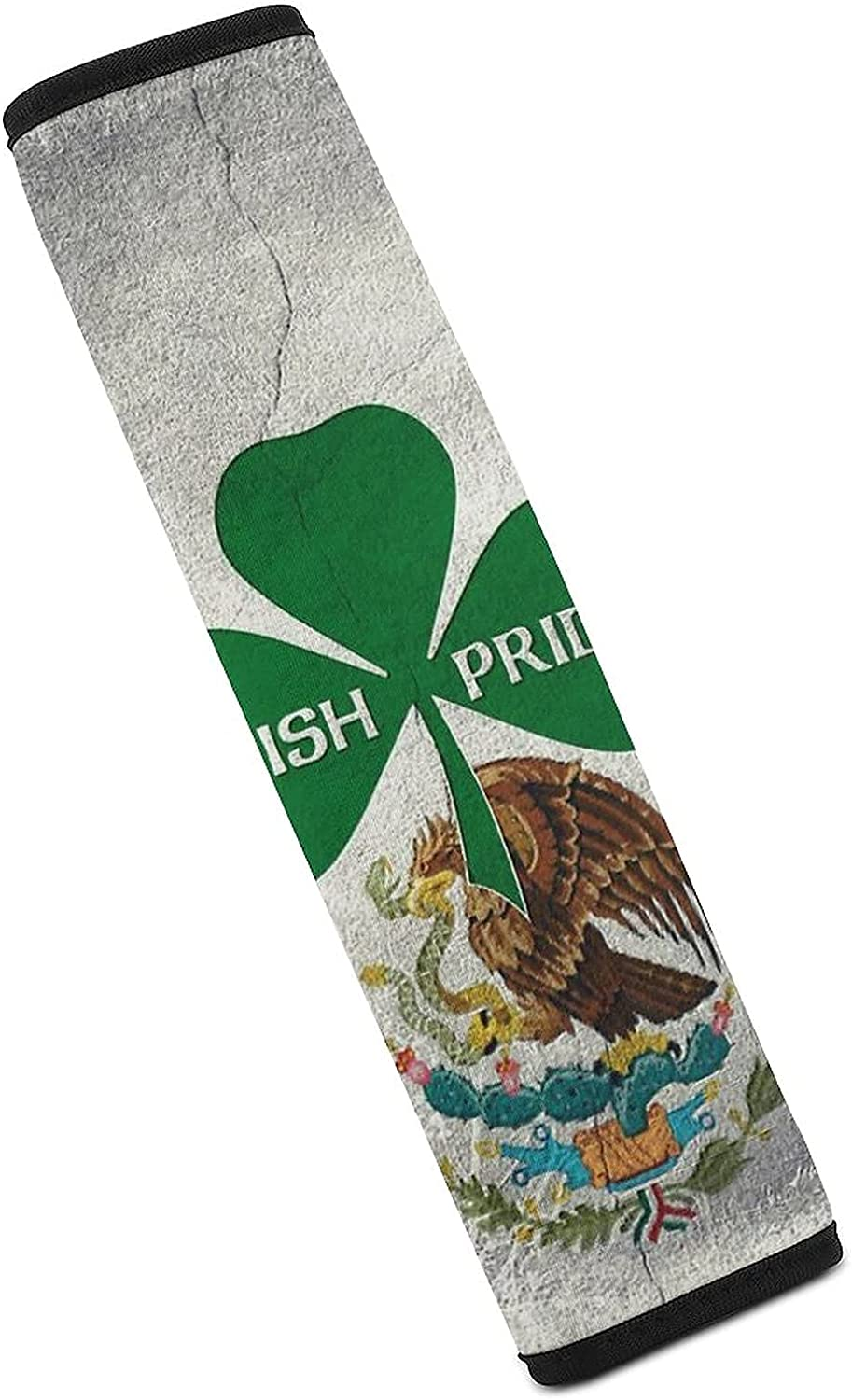 Irish Mexican Pride Seat Super sale period limited Belt Seatbelt Outstanding Car Covers Pads
