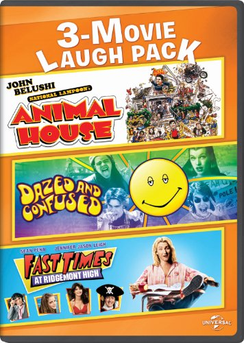 National Lampoon's Animal House / Dazed and Confused / Fast Times at Ridgemont High 3-Movie Laugh Pack