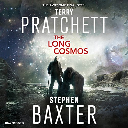 The Long Cosmos audiobook cover art