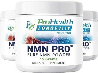 ProHealth NMN Powder 3-Pack (15 Grams per jar) Nicotinamide Mononucleotide | NAD+ Precursor | Supports Anti-Aging, Longevity and Energy | Non-GMO