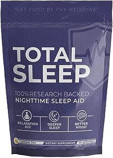 UMZU: Total Sleep - Natural Sleep Remedy - 30 Servings - Help Your Body Relax - Reduce Anxiety & Restlessness - Promote Restorative Sleep Cycles & Deep Sleep - Improve Overall Mood