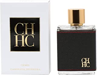 Carolina Herrera CH Eau de Toilette Spray for Men, 3.4 Ounce