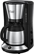 Russell Hobbs Kaffeemaschine Adventure Edelstahl, Thermokanne bis zu 8 Tassen, 1,0l, Abschaltautomatik, Tropf-Stopp, 1100W, Filterkaffeemaschine 24020-56