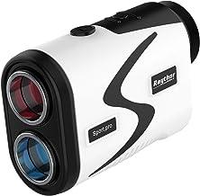 Raythor Golf Rangefinder, 6X Rechargeable Laser Range Finder 1000 Yards with Slope Adjustment, Flag Seeker with Vibration ...