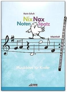 Nix Nax - Juego de partituras musicales para niños (a partir de 6 años, para coche)