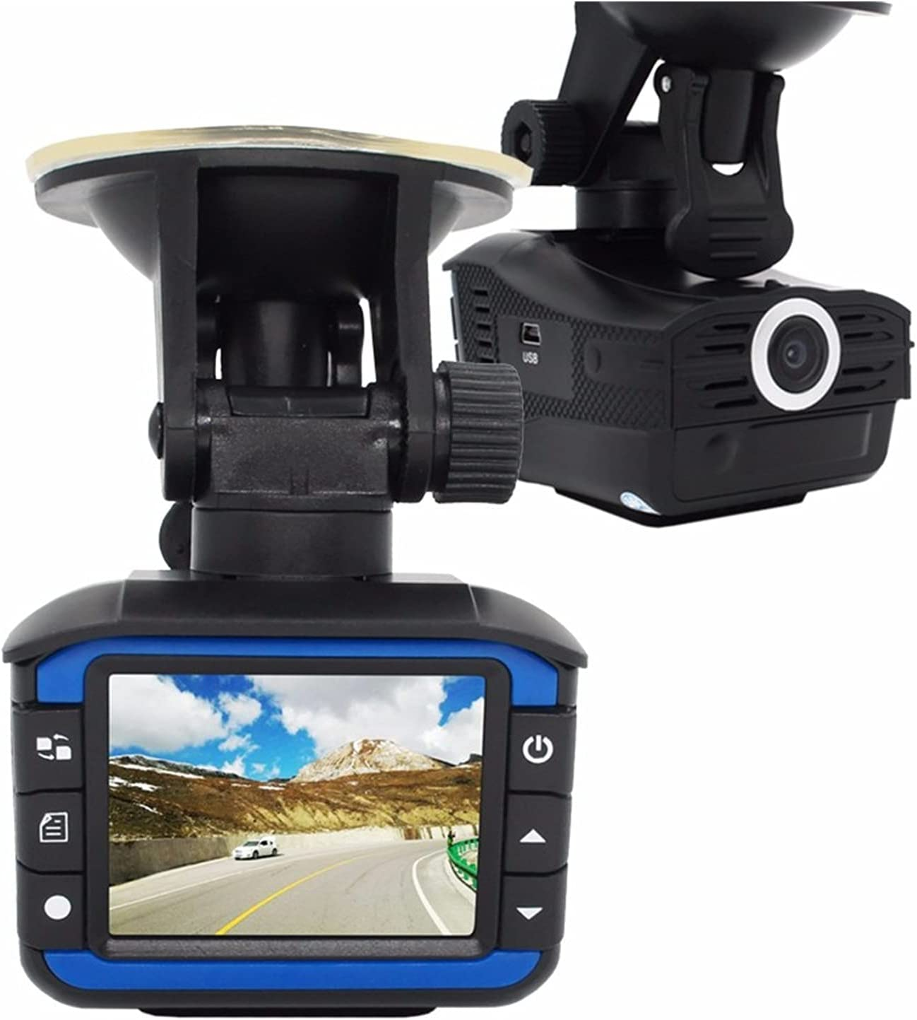 Ranking TOP4 lowest price Car On-Dash Mounted Cameras 2.4 Camera Rad DVR Inch Detector