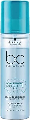 Schwarzkopf Professional BC MOISTURE KICK Conditionneur spray cheveux secs, lot de 1 (1 x 200 ml)