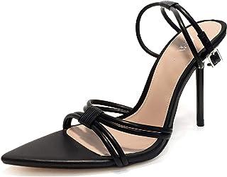 18de108661d Zara Women High Heel Strappy Sandals 1372 001